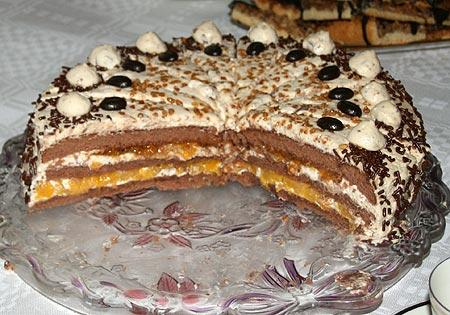 Pfirsich Baileys Torte